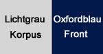 Lichtgrau-Oxfordblau