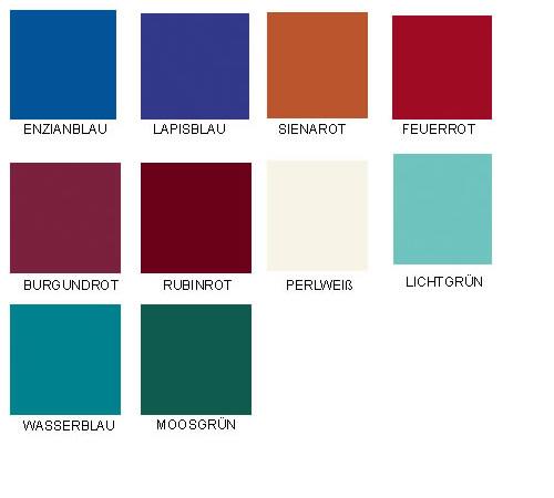 Farben für Spindtüren
