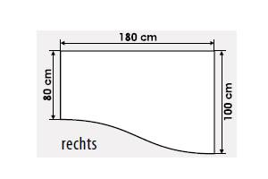 freiform b ro schreibtisch mit sichtblende g nstig kaufen. Black Bedroom Furniture Sets. Home Design Ideas