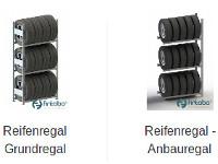 Günstige Reifenregale mit Anbaumöglichkeiten