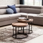 Mobile Preview: Massivholz Couchtische