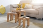 Preview: Couchtische Massivholz 3er Set