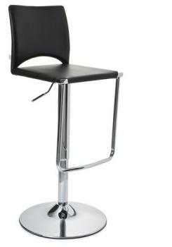 barhocker modern mit r ckenlehne u design fu st tze. Black Bedroom Furniture Sets. Home Design Ideas