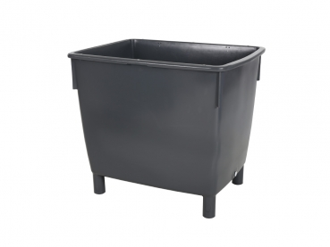 kunststoffbeh lter mit deckel u fahrgestell 400 liter. Black Bedroom Furniture Sets. Home Design Ideas