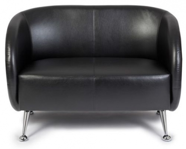 lounge sofa 2 sitzer retro stil besuchersofa g nstig. Black Bedroom Furniture Sets. Home Design Ideas