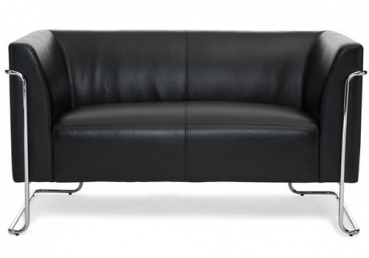 Lounge sofa 2 sitzer besuchersofa warteraum sofa for Lounge mobel 2 sitzer