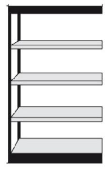 Regalsystem metall büro  Büro Regalsystem Steckregale Büroregale aus Metall | Fintabo.de