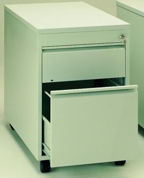 schreibtisch rollcontainer mit zentralverriegelung. Black Bedroom Furniture Sets. Home Design Ideas
