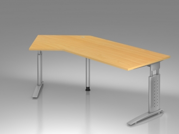 eckwinkel verkettungs anbauplatte f r b ro schreibtische. Black Bedroom Furniture Sets. Home Design Ideas