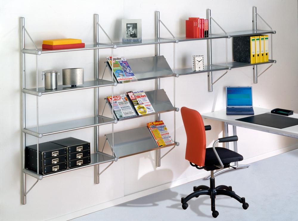 design wandregal zeitschriften u prospektregal. Black Bedroom Furniture Sets. Home Design Ideas