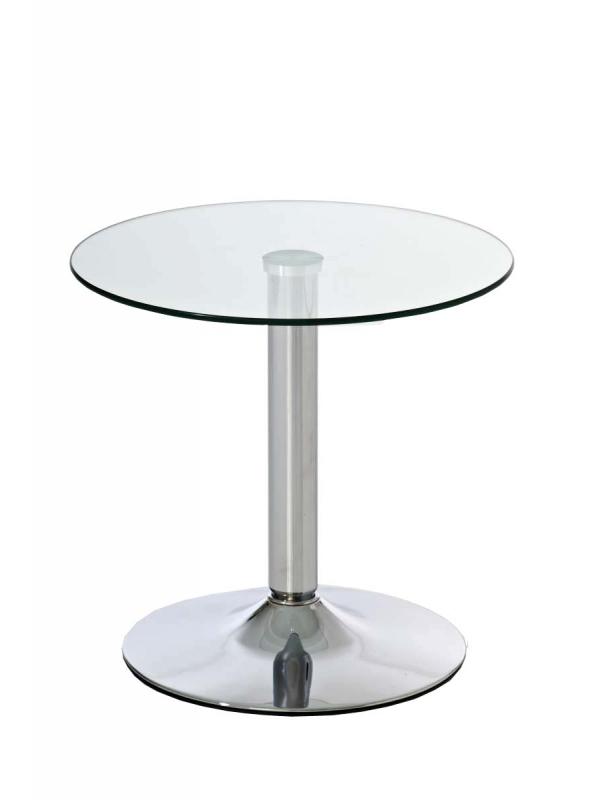 Runder glastisch glastische rund 50 cm kaufen for Kleiner glastisch rund