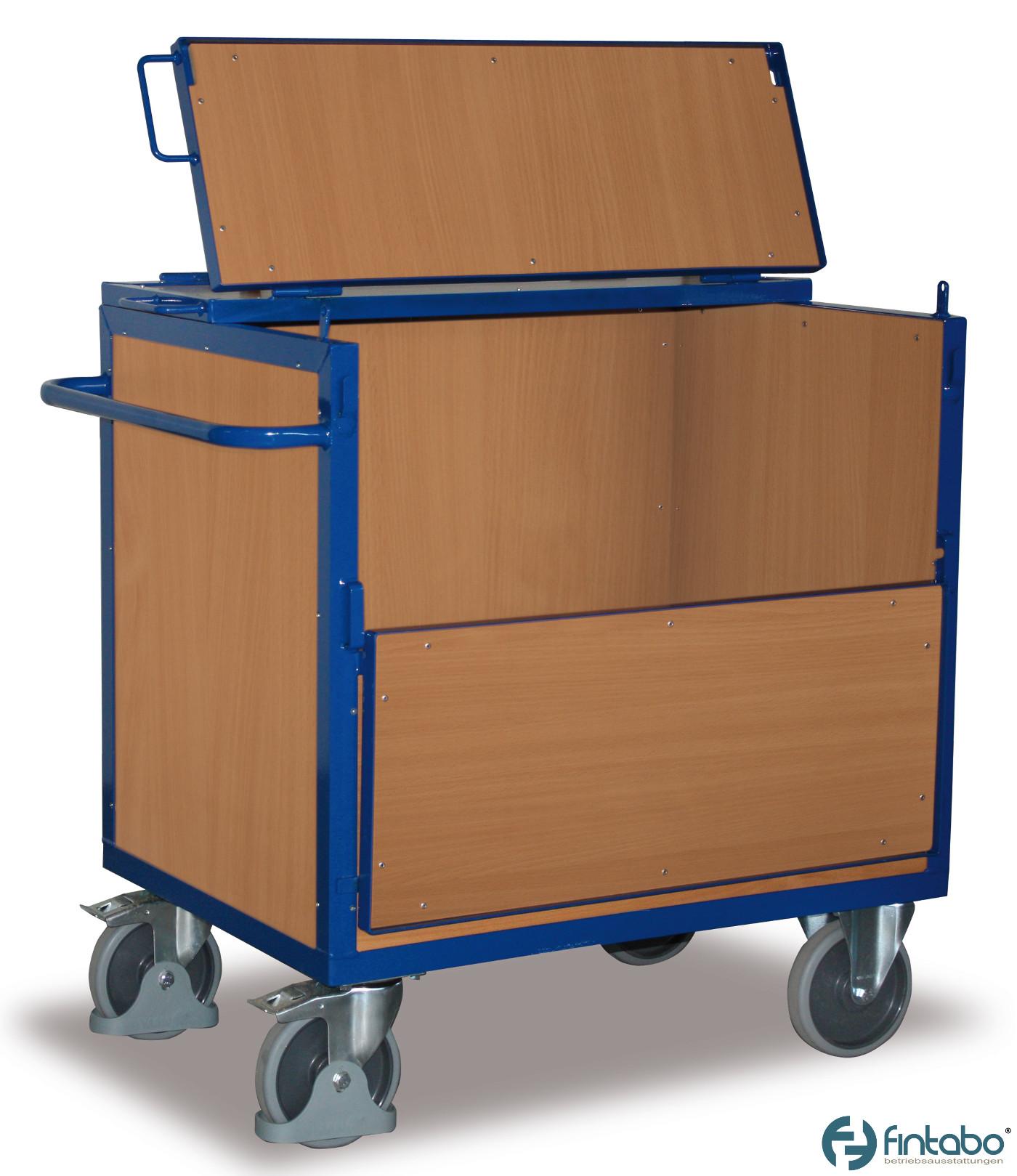 holzkastenwagen mit deckel g nstig kaufen. Black Bedroom Furniture Sets. Home Design Ideas