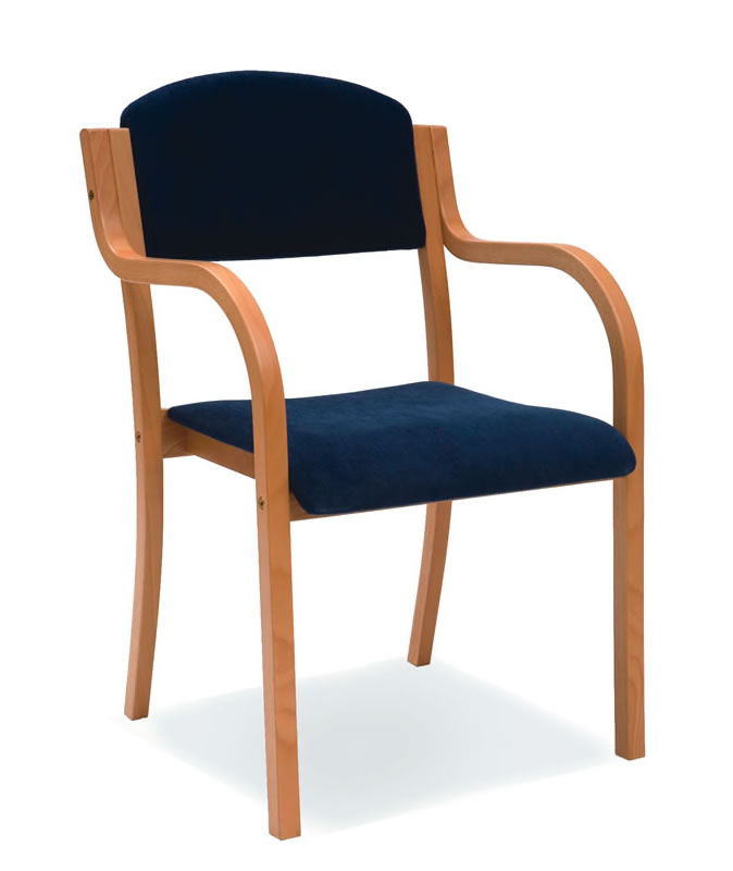 Liegestuhl Holz Mit Armlehne ~ Holzstühle mit Armlehne Lillan Bei Fintabo® kaufen