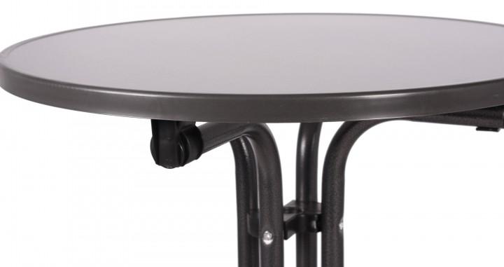 Bistrotisch mit klappfunktion klapptisch tisch rund for Bistrotisch rund