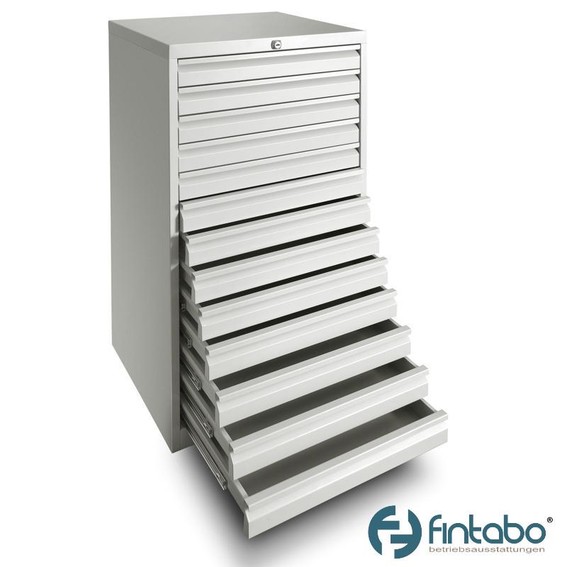 Metall Schubladenschrank mit 13 Schubladen DIN A3   Fintabo.de