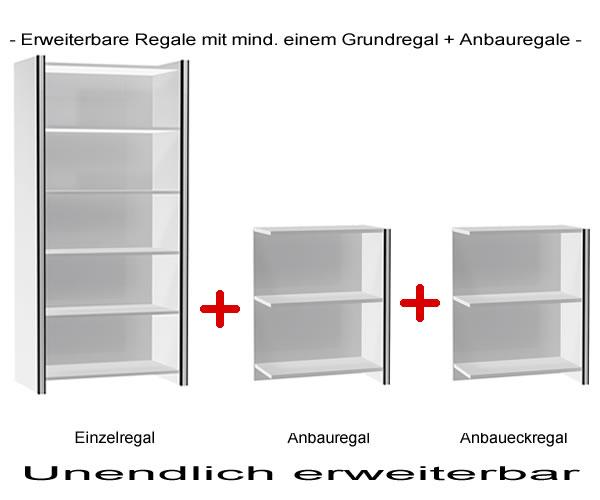 niedriges b roregal b rom belsystem holz b rom bel. Black Bedroom Furniture Sets. Home Design Ideas