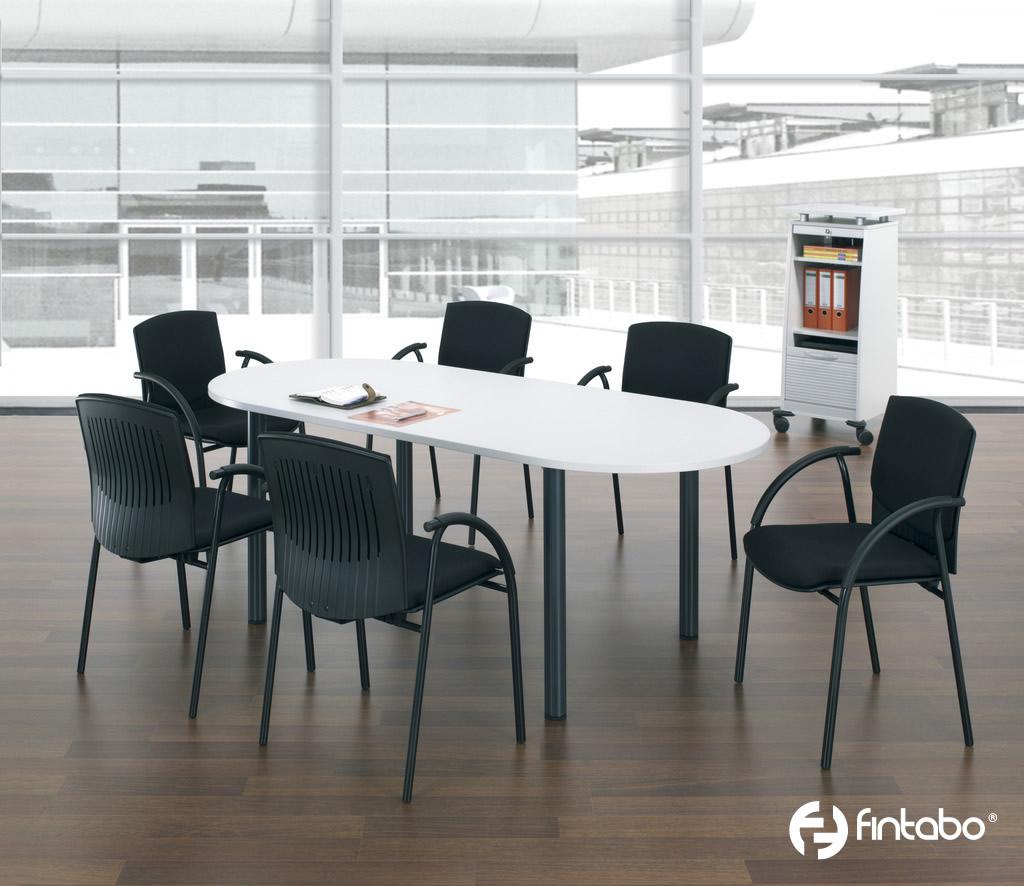 Ovaler Konferenztisch jetzt versandkostenfrei bestellen  Fintabo.de