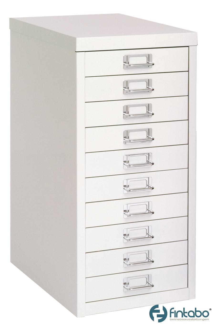 Schubladenschrank DIN A4 mit 10 Schubladen | Fintabo.de