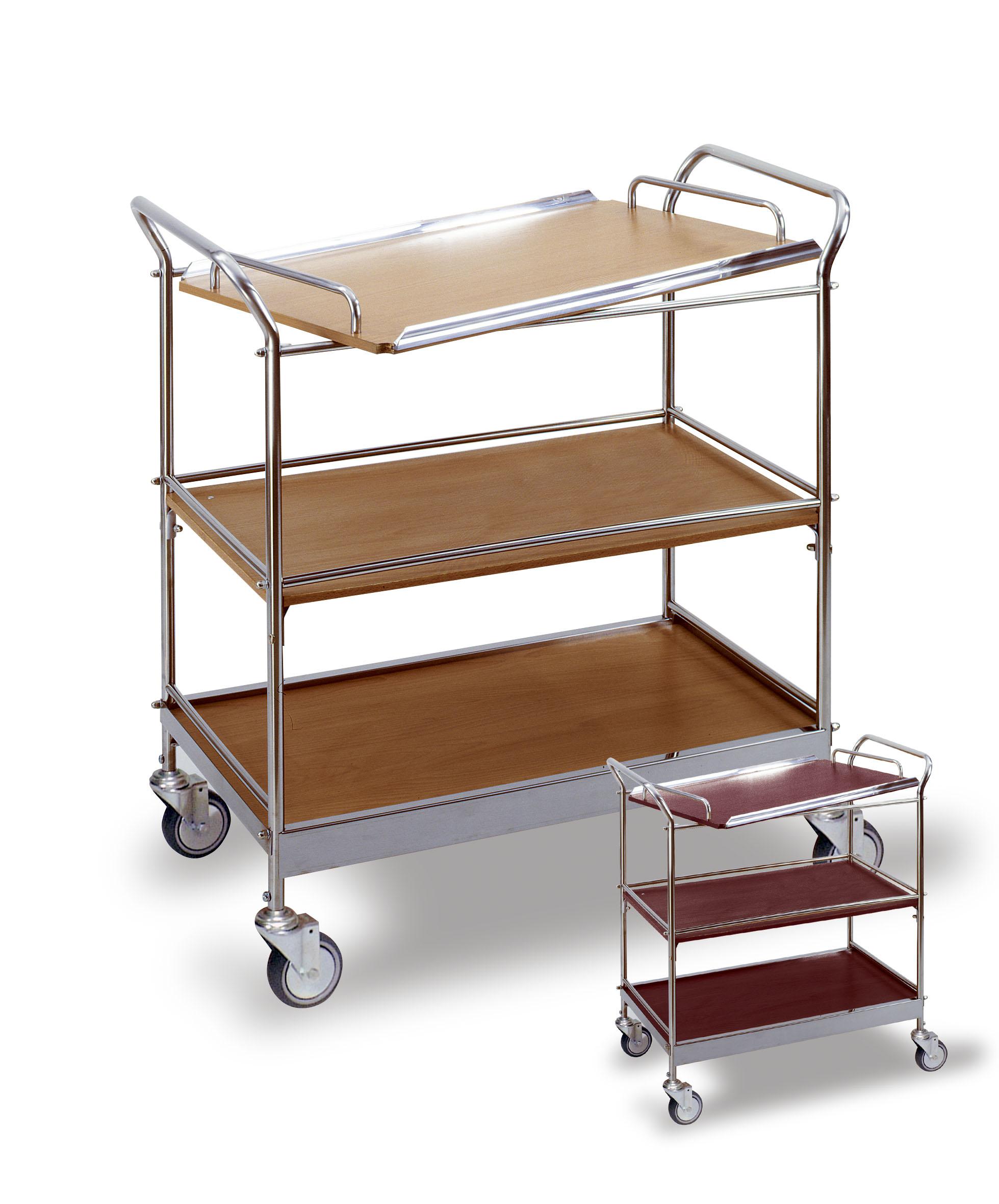 servierwagen mit tablett 3 etagen jetzt online kaufen. Black Bedroom Furniture Sets. Home Design Ideas