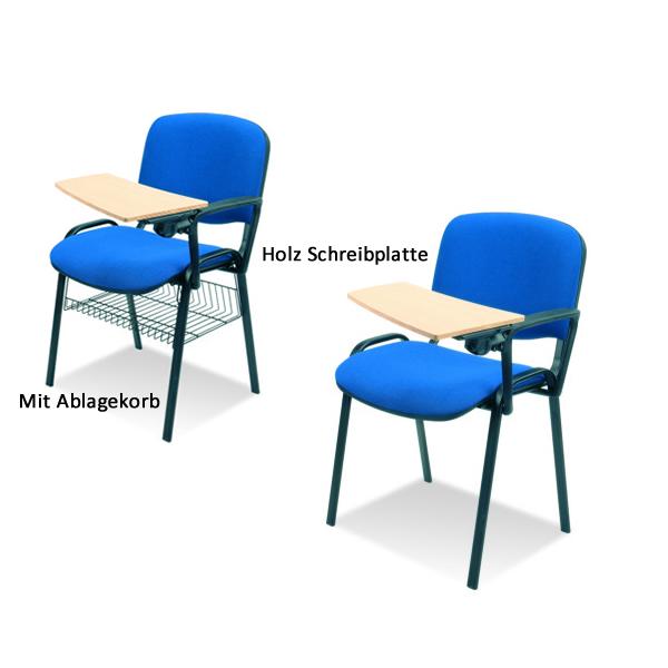 Stuhl Mit Schreibtablar