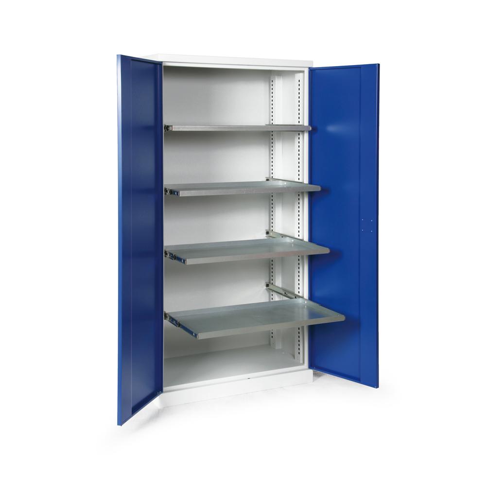 Material.-Werkzeugschrank mit ausziehbaren Fachböden | Fintabo.de