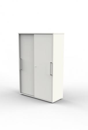 b ro schiebet renschrank 4 ordnerh hen 100x40x147cm. Black Bedroom Furniture Sets. Home Design Ideas