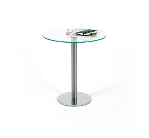 glastisch rund beistelltisch made in germany. Black Bedroom Furniture Sets. Home Design Ideas
