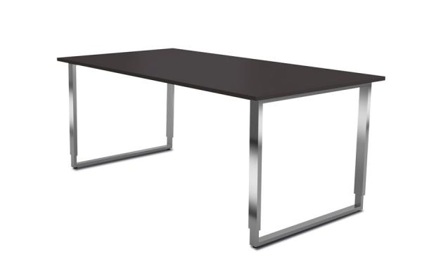 edelstahl schreibtisch 180 x 80 cm trend 2000. Black Bedroom Furniture Sets. Home Design Ideas
