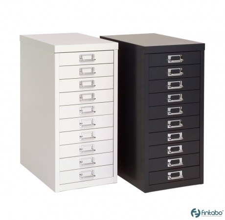 Schubladenschrank DIN A4 mit 10 Schubladen   Fintabo.de